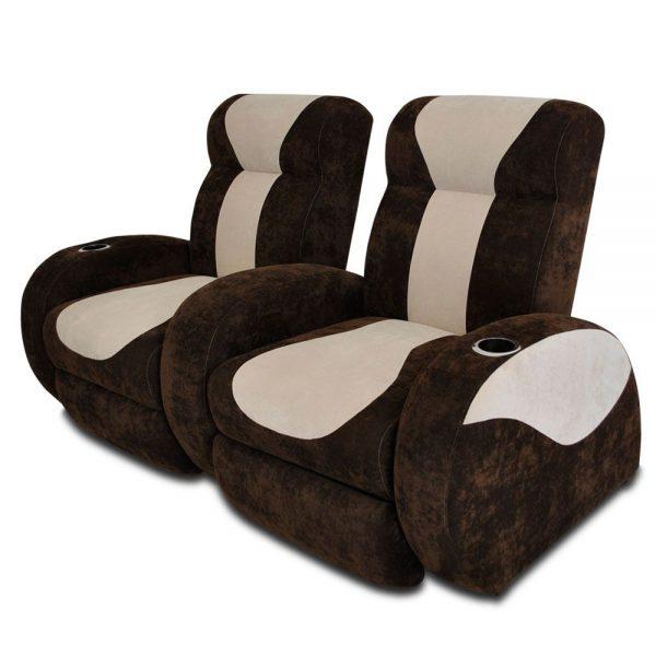 Sill n reclinable innova doble for Sillon reclinable doble