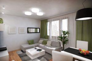 sala con decoración sencilla
