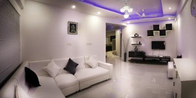 interior de una casa moderna