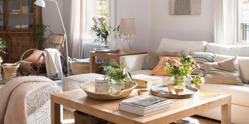 mesas de centro decorativas