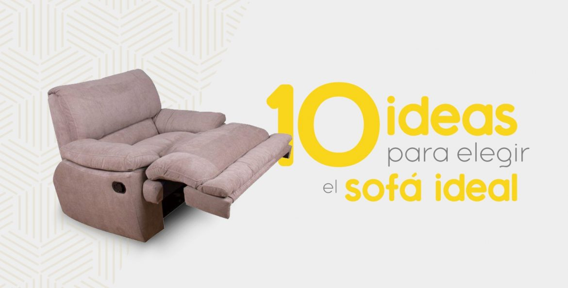 sillón reclinable, el ideal