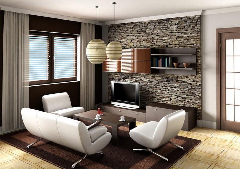 decoración cuarto de estar pequeño