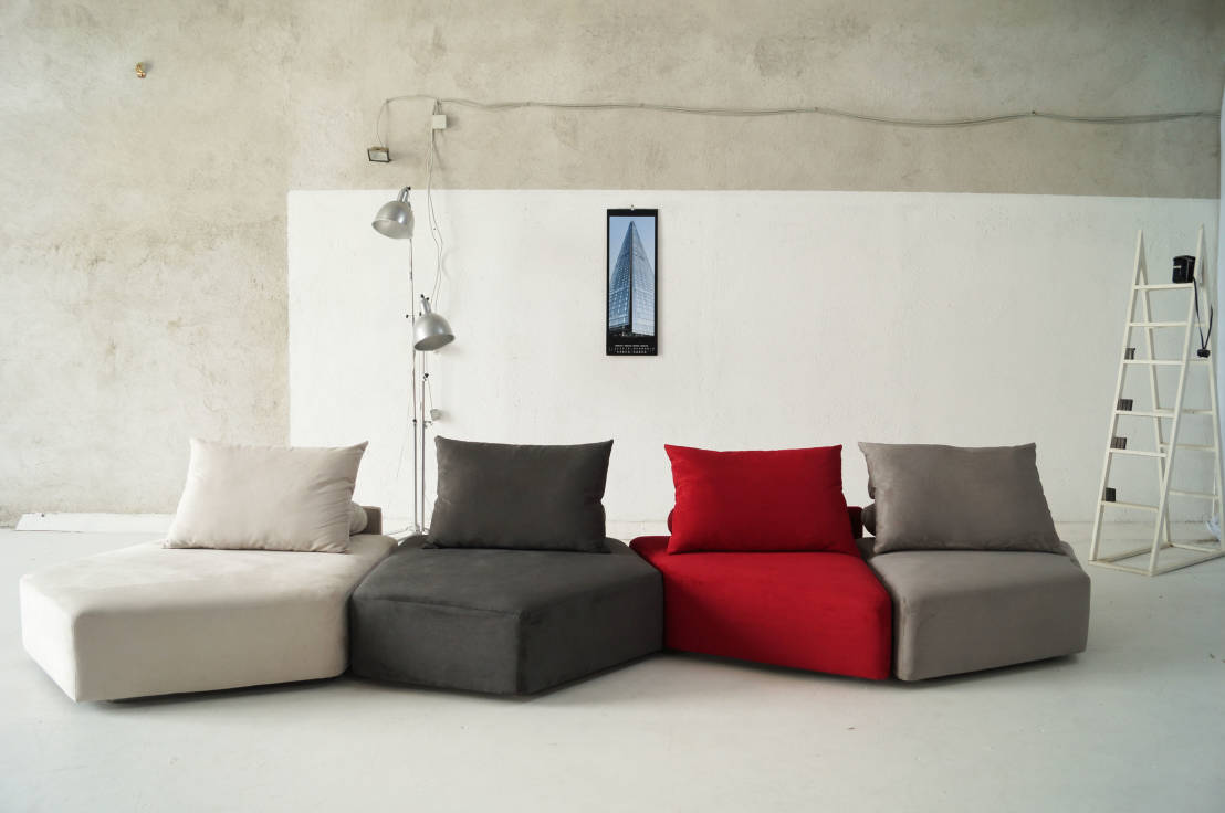 mobiliario cómodo sala lounge colores