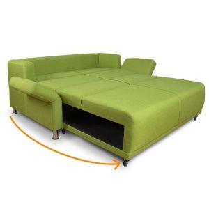 sofá cama vision Mobydec apertura italiana