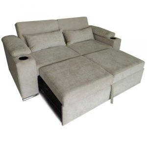 sofá cama element Mobydec apertura en pliegues
