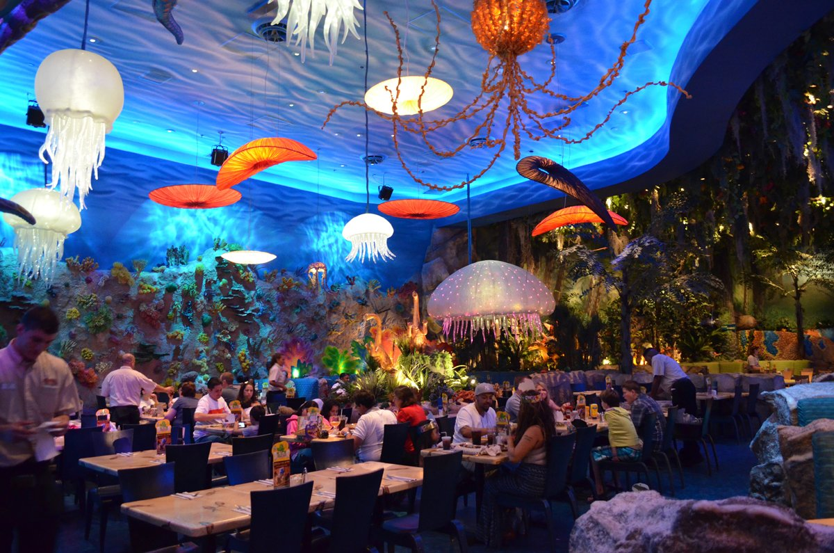 decoración restaurante temático mar