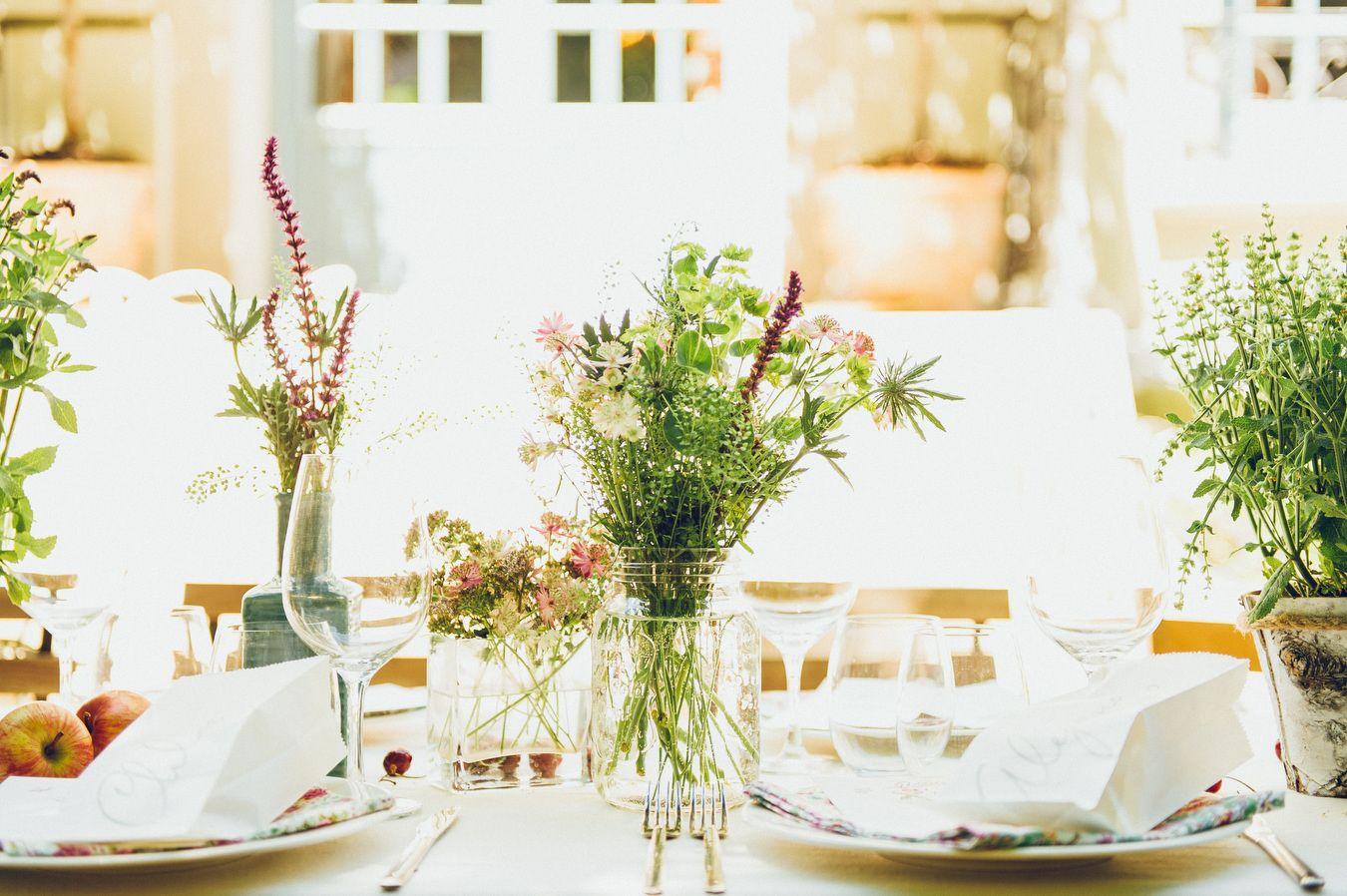 decoración restaurantes plantas