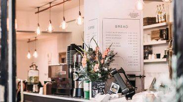 decoración cafetería