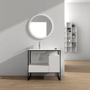 tocador tipo mesa con espejo independiente