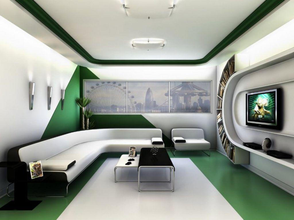 decoración futurista