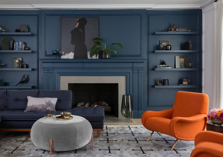 decoración pantone 2020 classic blue