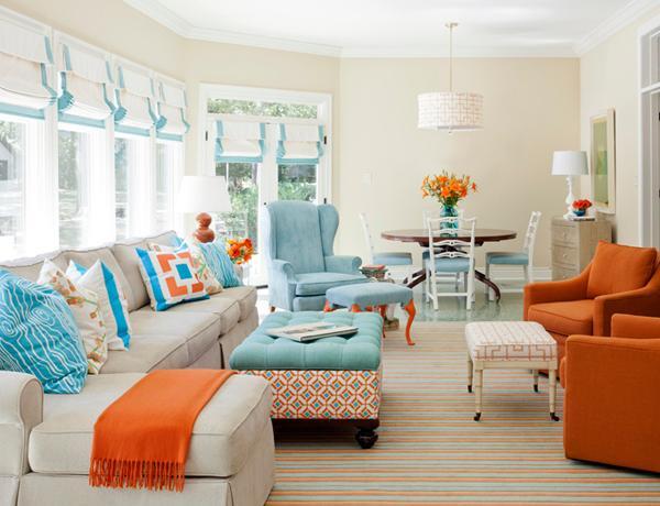 muebles colores estilo analogía