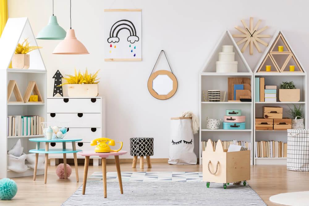 muebles colores juveniles