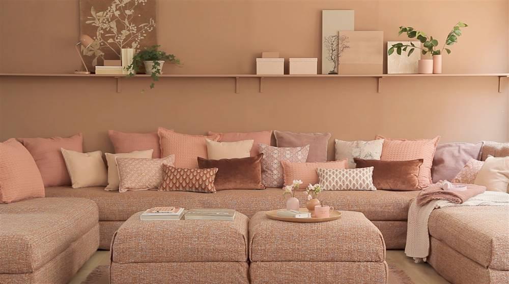 muebles colores estilo monocromático