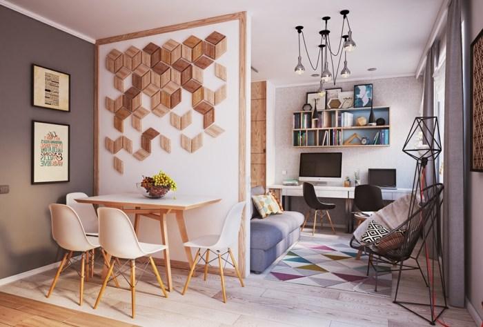 muebles colores estilo nórdico