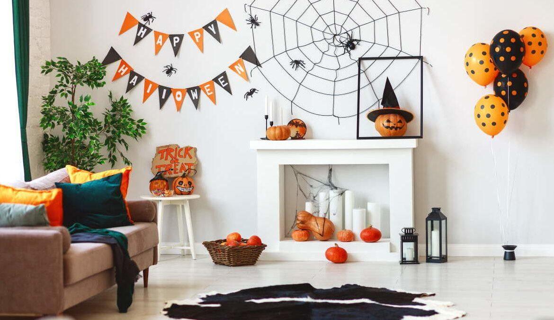 decoración halloween hogar