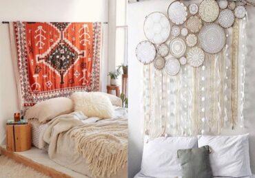 decoración con telas