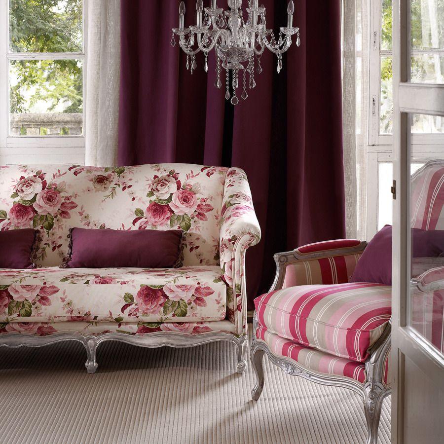 muebles estampados con telas